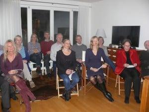 Wieder mehr als 20 Gäste beim 2. Rissener Klappstuhlkonzert