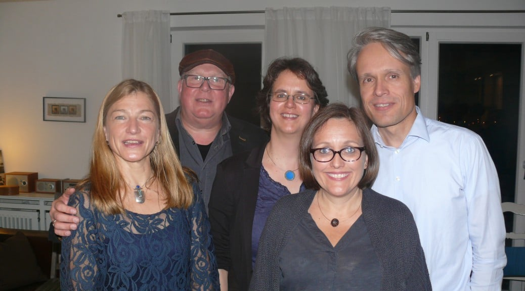 Hilke Billerbeck, Norbert Dube, Julia Wetzel, Karen und Piet Kult (v.l.)